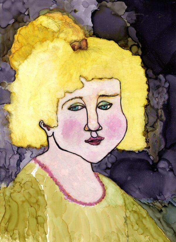Golden Haired Girl
